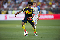 Santa Clara, CA. - June 3, 2016: The U.S. Men's national team go down 0-2 to Colombia in second half action in their opening match at the 2016 Copa America Centenario at Levi's stadium.