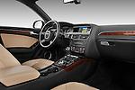 Passenger side dashboard view of a 2011 Audi A4 Allroad Quattro 2.0l TDI 5 Door Wagon