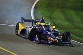 #27: Alexander Rossi, Andretti Autosport Honda, Crash