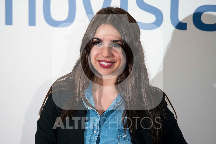 """Elena Furiase attends to the premire of the film """"Que fue de Jorge Sanz"""" at Cinesa Proyecciones in Madrid. February 10, 2016."""