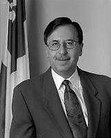Andre Boulerice a son bureau de compte, 1994<br /> <br /> <br /> PHOTO : Agence Quebec Presse - stephane Fournier