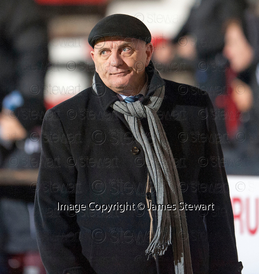 Forfar manager Dick Campbell at the end of the game.