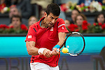 Serbian Novak Djokovic during  TPA Finals Mutua Madrid Open Tennis 2016 in Madrid, May 08, 2016. (ALTERPHOTOS/BorjaB.Hojas)