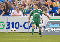 August 03 2010 Panathinaikos FC forward Stergos Marinos No. 22 in action during an international friendly between Inter Milan FC and Panathinaikos FC at the Rogers Centre in Toronto..Final score was 3-2 for Panathinaikos FC.