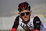 Mikkel Bjerg (DEN) UAE Team Emirates on the final climb of Stage 3 of the 2021 UAE Tour running 166km from Al Ain to Jebel Hafeet, Abu Dhabi, UAE. 23rd February 2021.  <br /> Picture: Eoin Clarke | Cyclefile<br /> <br /> All photos usage must carry mandatory copyright credit (© Cyclefile | Eoin Clarke)