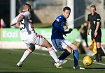 St Johnstone v Hamilton Accies…26.10.19   McDiarmid Park   SPFL<br />Scott Tanser and Sam Stubbs<br />Picture by Graeme Hart.<br />Copyright Perthshire Picture Agency<br />Tel: 01738 623350  Mobile: 07990 594431