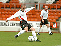 20040417    Copyright Pic: James Stewart.File Name : jspa01_clyde_v_raith.JAMES GIBSON SCORES CLYDE'S FIRST...James Stewart Photo Agency 19 Carronlea Drive, Falkirk. FK2 8DN      Vat Reg No. 607 6932 25.Office     : +44 (0)1324 570906     .Mobile  : +44 (0)7721 416997.Fax         :  +44 (0)1324 570906.E-mail  :  jim@jspa.co.uk.If you require further information then contact Jim Stewart on any of the numbers above.........
