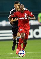 Washington,D.C. - Saturday, June 06 2015: Toronto FC defeated D.C United 2-1in a MLS match at RFK Stadium..