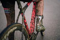 a mudded DE BOER Sophie (NED/Parkhotel Valkenburg) post-race<br /> <br /> GP Sven Nys (BEL) 2019<br /> Women's Race<br /> DVV Trofee<br /> ©kramon