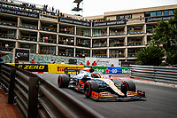 22nd May 2021; Principality of Monaco; F1 Grand Prix of Monaco, qualifying sessions;  03 RICCIARDO Daniel (aus), McLaren MCL35M