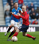 Barry Russell takes out Fraser Aird