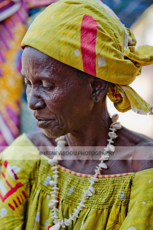 Woman in the market in Djibo in northern Burkina Faso.