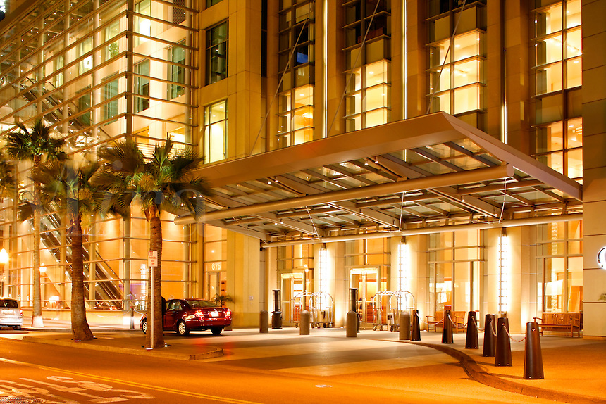 The Omni Hotel in the Gaslamp District, Downtown San Diego, California