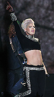 """LOS ANGELES, CA - OCTOBER 12: Singer P!nk performs during """"The Truth About Love"""" Tour Concert at Staples Center on October 12, 2013 in Los Angeles, California. (Photo by Xavier Collin/Celebrity Monitor)"""
