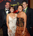 """George and Tammy Childress with Donnie Childress and Lauren Schattel at the San Luis Salute to """"The Italian Riviera"""" at the Galveston Island Convention Center at the San Luis Friday  Feb. 20, 2009.(Dave Rossman/For the Chronicle)"""