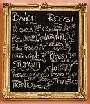 Italy, Trentino, Riva del Garda: drinks menu | Italien, Trentino, Riva del Garda: Getraenkekarte