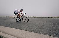 Warren Barguil (FRA/Sunweb) descending the Port de Balès (HC/1755m/11.7km/7.7%)<br /> <br /> 104th Tour de France 2017<br /> Stage 12 - Pau › Peyragudes (214km)