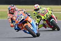October 27, 2018: Augusto FERNANDEZ (SPA) on the No.40 KALEX from Pons Hp40 during the Moto2 practice session three at the 2018 MotoGP of Australia at Phillip Island Grand Prix Circuit, Victoria, Australia. Photo Sydney Low