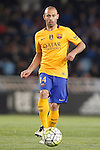 FC Barcelona's Javier Mascherano during La Liga match. April 9,2016. (ALTERPHOTOS/Acero)