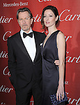 Gary Oldman and Alexandra Edenborough  attends the 2012 Palm Springs International Film Festival Awards Gala held at The Palm Springs Convention Center in Palm Springs, California on January 07,2012                                                                               © 2012 Hollywood Press Agency