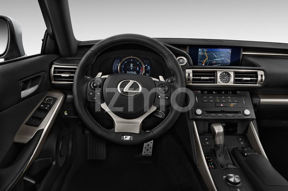 Car pictures of steering wheel view of a 2015 Lexus LS 350 F Sport 4 Door Sedan Steering Wheel