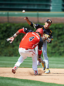 Infielder J.P. Crawford (3) during the Under Armour All-American Game at Wrigley Field on August 18, 2012 in Chicago, Illinois.  (Copyright Mike Janes Photography)