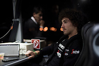 Fabio Felline (ITA/Trek-Segafredo) listening to team manager Luca Guercilena during the team breefing on the teambus the night before the race<br /> <br /> preparing for the 108th Milano - Sanremo 2017<br /> (day before the race)