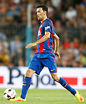 FC Barcelona's Sergio Busquets during Supercup of Spain 2nd match.August 17,2016. (ALTERPHOTOS/Acero)