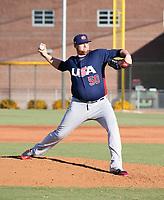 Brooks Pounders - USA Baseball Premier 12 Team - October 25- 28, 2019 (Bill Mitchell)