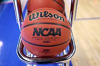 GREENSBORO, NC - MARCH 05: NCAA basketball during a game between Pitt and Georgia Tech at Greensboro Coliseum on March 05, 2020 in Greensboro, North Carolina.