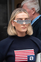 LONDON, UNITED KINGDOM - 2020/09/08: Perrie Edwards of Little Mix departs the Global Radio Studios in London. <br /> CAP/JOR<br /> ©JOR/Capital Pictures