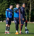 8.3.2018: Rangers training:<br /> Graham Dorrans, Josh Windass and Bruno Alves