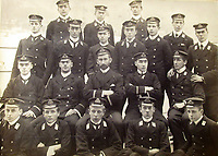 BNPS.co.uk (01202) 558833<br /> Pic: Charles Miller/BNPS<br /> <br /> Taprell Dorling who compiled the album is pictured bottom right<br /> <br /> The HMS Terrible gun room crew<br /> <br /> A fascinating photo album compiled by a British naval officer on tour in the Far East at the turn of the 20th century has come to light.<br /> <br /> Taprell Dorling served on the HMS Terrible in 1900 at the start of an over 30 year career at sea.<br /> <br /> The album, containing 74 photos, has emerged for sale with auctioneers Charles Miller, of London, with an estimate of £3,000.