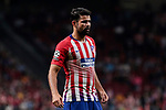 Atletico de Madrid's Diego Costa during UEFA Champions League match between Atletico de Madrid and Club Brugge at Wanda Metropolitano Stadium in Madrid, Spain. October 03, 2018. (ALTERPHOTOS/A. Perez Meca)