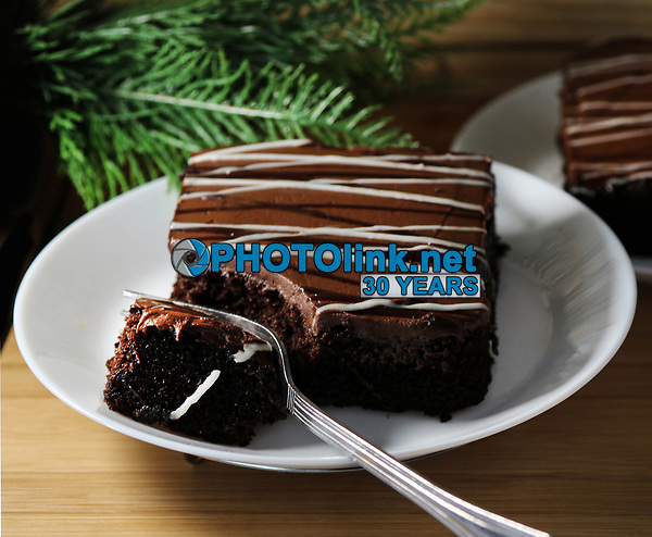 Chocolate Cakes <br /> Photo By Adam Scull/PHOTOlink.net