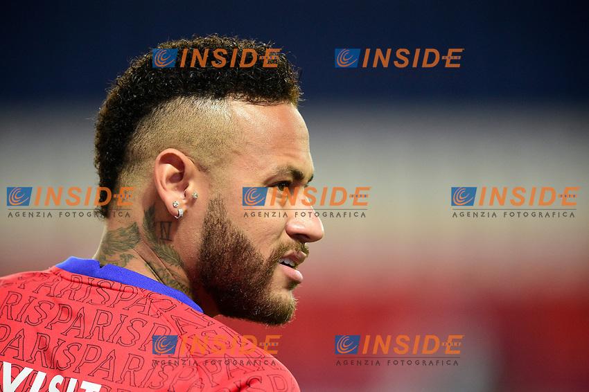 Echauffement des joueurs du PSG<br /> Neymar Jr (PSG) et ses Tatouages<br /> 13/09/2020<br /> Paris Saint Germain PSG vs Olympique Marseille OM <br /> Calcio Ligue 1 2020/2021  <br /> Foto JB Autissier Panoramic/insidefoto <br /> ITALY ONLY