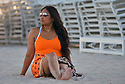 MIAMI BEACH, FL - JULY 16: Garcelle Beauvais is seen at the beach on July 16, 2021 in Miami Beach, Florida. (Photo by Vallery Jean / jlnphotography.com )