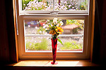 Window with Flower and Vase
