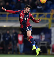 Riccardo Orsolini of Bologna in action during the Italy Cup 2018/2019 football match between Bologna and Juventus at stadio Renato Dall'Ara, Bologna, January 12, 2019 <br />  Foto Andrea Staccioli / Insidefoto