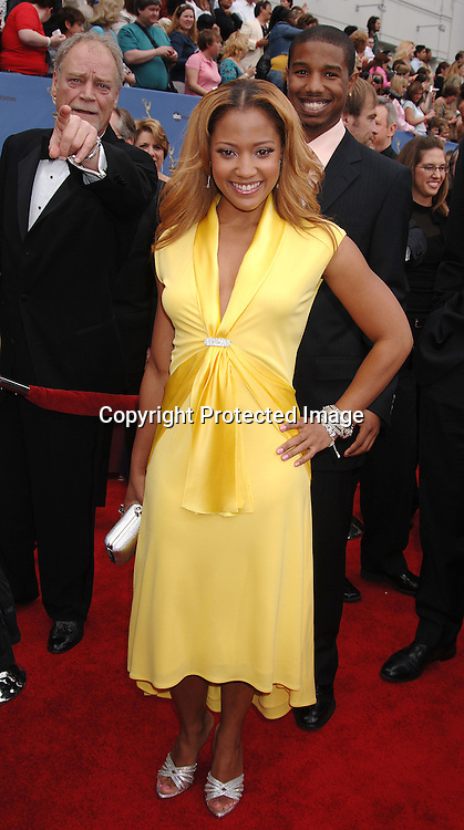 Tanisha Lynn..arriving at The 33rd Annual Daytime Emmy Awards..on April 28, 2006 at The Kodak Theatre...Robin Platzer, Twin Images