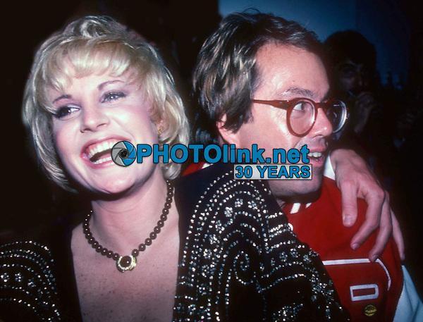 New York, NY<br /> 1982 FILE PHOTO<br /> Lorna Luft Allan Carr at Studio 54<br /> Photo by Adam Scull-PHOTOlink.net