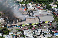 Industrial fire, St. Michael, Barbados
