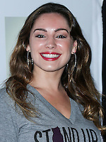 LOS ANGELES, CA, USA - NOVEMBER 02: Kelly Brook arrives at the 2014 Stand Up For Pits Event held at Improv on November 2, 2014 in Los Angeles, California, United States. (Photo by Xavier Collin/Celebrity Monitor)