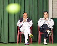 15-3-09, Rotterdam, Nationale Overdekte Jeugdkampioenschappen 12 en 18 jaar, Coaches