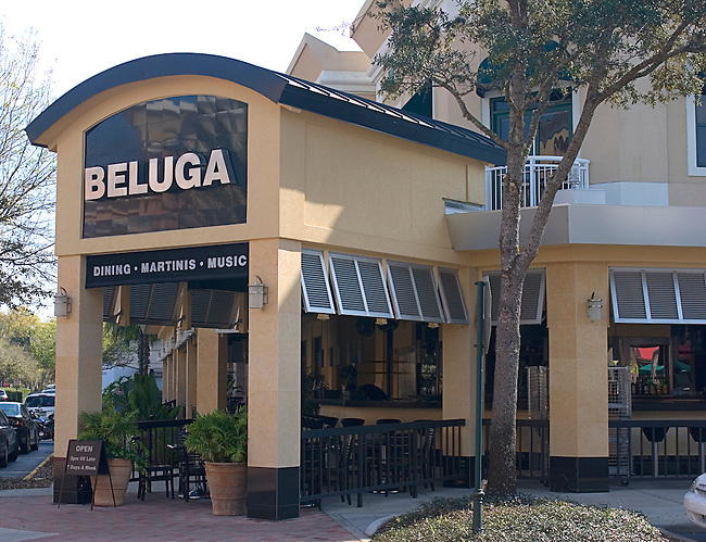 Beluga Restaurant, Winter Park, Orlando, Florida