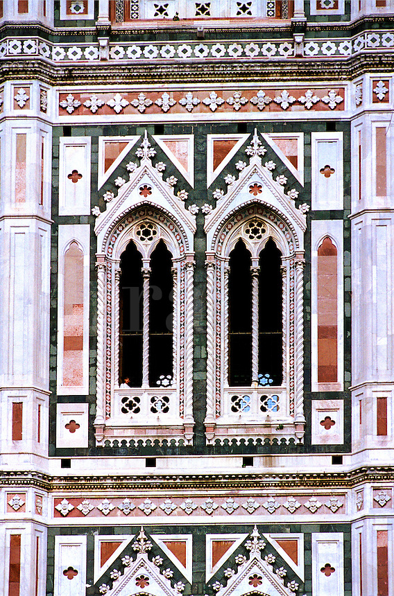 Detail of Giotto's Bell Tower