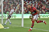 3rd October 2021; Maracana Stadium, Rio de Janeiro, Brazil; Brazilian Serie A, Flamengo versus Athletico Paranaense; Andreas Pereira of Flamengo celebrates his goal in the 49th minute for 3-0