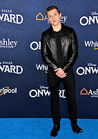 "LOS ANGELES, CA: 18, 2020: Tom Holland at the world premiere of ""Onward"" at the El Capitan Theatre.<br /> Picture: Paul Smith/Featureflash"