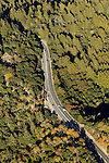 Highway acts as a barrier for wildlife, Highway 17, Santa Cruz Mountains, Monterey Bay, California