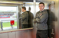Tuesday 1st January 2019 | Ulster Rugby Match Briefing<br /> <br /> Ulster's Nick Timoney at the Ulster Rugby Match Briefing held at Kingspan Stadium ahead of Ulster's inter-pro clash against Leinster at the RDS in Dublin on Saturday. Photo by John Dickson / DICKSONDIGITAL
